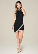 Bebe Hayley Embellished Dress