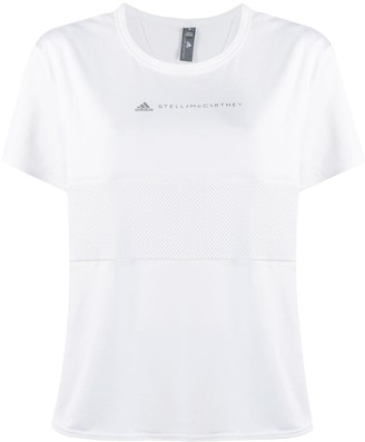 Stella McCartney Adidas X logo print T-shirt