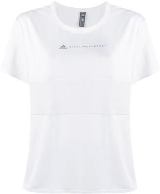 adidas by Stella McCartney logo print T-shirt
