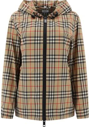 Burberry Everton Vintage Check Hooded Jacket