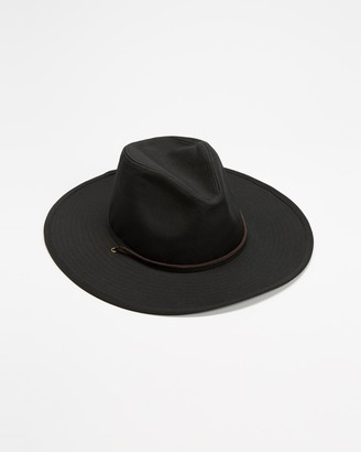 Brixton Black Hats - Field Hat - Size S at The Iconic