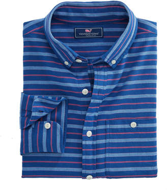 Vineyard Vines Slim Fit Andros Stripe Longshore Shirt