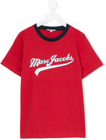 Little Marc Jacobs logo print T-shirt - kids - Cotton - 14 yrs