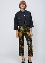Dries Van Noten indigo valdez jacket