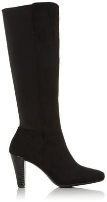 Roberto Vianni Summy Stretch Almond Toe Knee High Boots