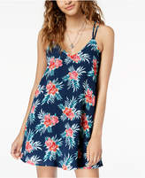 Sequin Hearts Juniors' Strappy-Back A-Line Dress