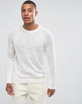 Esprit 100% Linen Raglan Sleeve Jumper
