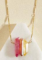 Par for the Quartz Necklace