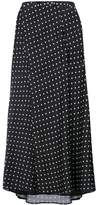 Haider Ackermann polka dots long skirt