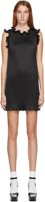 Marc Jacobs Black The Pleated Dress