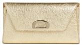 Christian Louboutin Vero Dodat Metallic Calfskin Clutch - Metallic