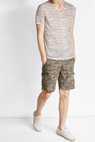 Woolrich Printed Cargo Shorts