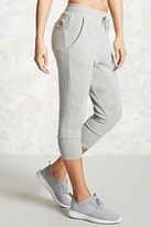Forever 21 Active Graphic Capri Joggers
