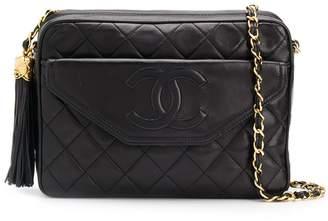 Chanel Pre-Owned 1989 tassel detail camera shoulder bag