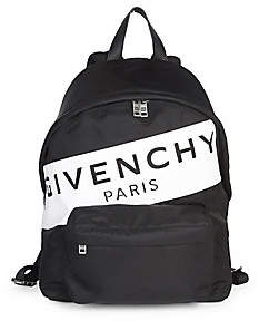 Givenchy Men's Paris Nylon Backpack