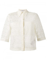 Stella McCartney short-sleeved lace shirt