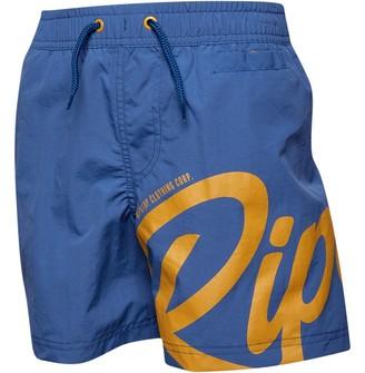 Ripstop Boys Blinken Swim Shorts Ensign Blue