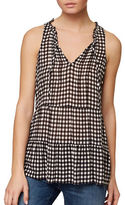 Sanctuary Romy Checked Shell Top
