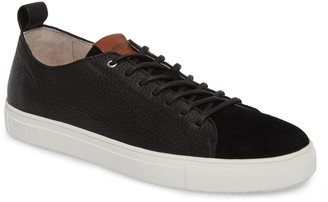 Blackstone Suede & Leather Low Top Sneaker