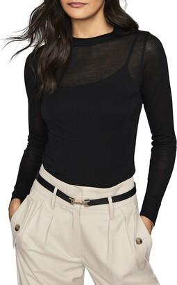 Reiss Aurellie Long Sleeve Shirt