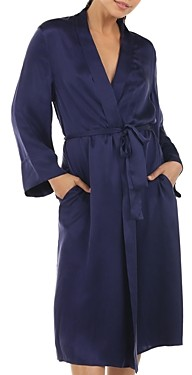 Papinelle Long Silk Robe