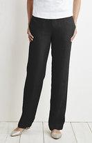 J. Jill Easy Linen Flat-Front Pants