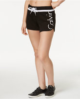 Calvin Klein Cotton Logo Running Shorts