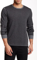 Kenneth Cole New York Striped Crew Neck Sweater