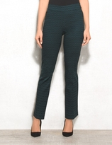 dressbarn roz&ALI Petite Super-Stretch Pull-On Ankle Pants
