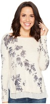 Lucky Brand Placed Floral Pullover Sweater Women's Sweater