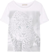 Stella McCartney Printed stretch-jersey T-shirt