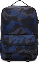 Diesel Blue Camo F-close Backpack