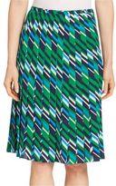 Michael Kors Pleated Silk Skirt