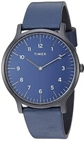 Timex 40 mm Norway 3-Hand (Black/Blue/Blue) Watches