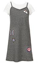 Jessica Simpson Big Girls 7-16 Ross Striped Patch Dress