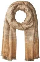 Lauren Ralph Lauren Boucle Textured Check Scarf Scarves