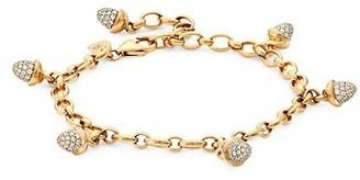 Tamara Comolli Mikado 18K Rose Gold & Diamond Acorn Charm Bracelet