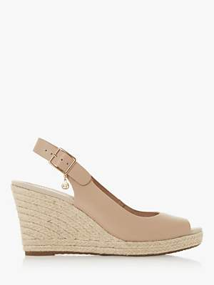Dune Klicks Wedge Heel Sandals