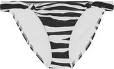 Vix Anita striped bikini briefs