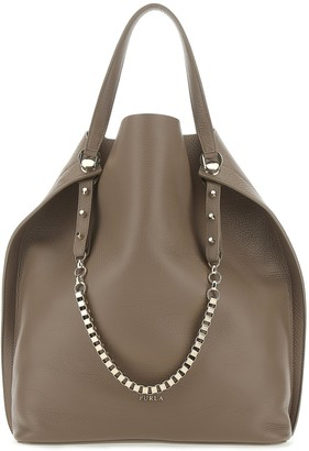 Furla Chain Tote Bag