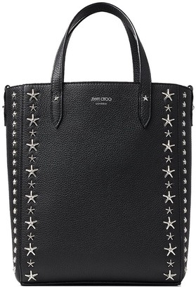 Jimmy Choo Pegasi star-embellished tote bag