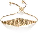 Ettika WOMEN'S MESH CHARM BRACELET-GOLD