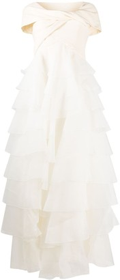 Giambattista Valli Tiered Bridal Gown