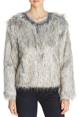 Unreal Fur Fire & Ice Short Faux Fur Coat