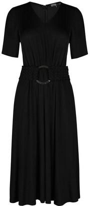 Biba Belted Jersey Midi Dress