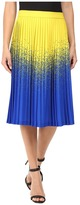 Kitty Joseph Long Knife-Pleated Skirt