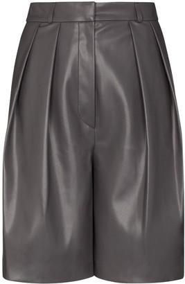 LVIR Pleated High-Rise Shorts