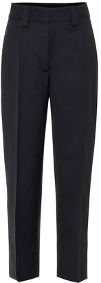 Acne Studios Mid-rise cropped straight pants