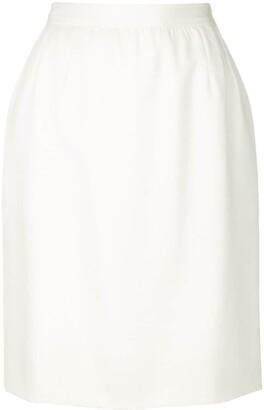 Saint Laurent Pre-Owned straight skirt