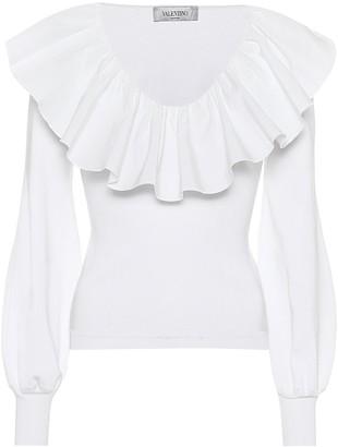 Valentino Ruffled shirt
